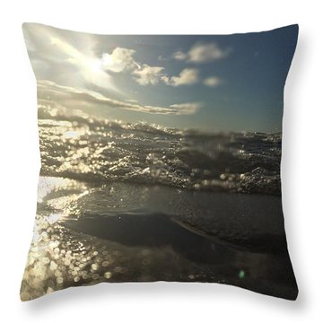 Cold And Fresh Throw Pillow