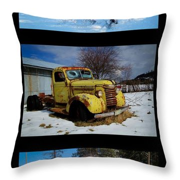 Cold Guys Throw Pillow by Idaho Scenic Images Linda Lantzy
