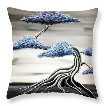 Cold Monday Throw Pillow