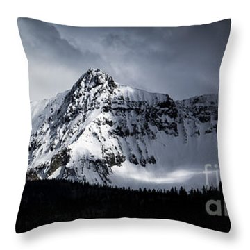 Cold Spring - San Juan Mountains, Colorado Throw Pillow by The Forests Edge Photography - Diane Sandoval