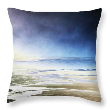 Throw Pillow featuring the photograph Cold by Steven Huszar