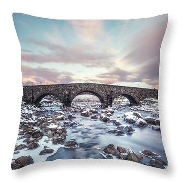 Cold Water Spirit Throw Pillow