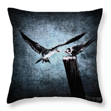 Colder Confrontations Throw Pillow by Andrew Paranavitana
