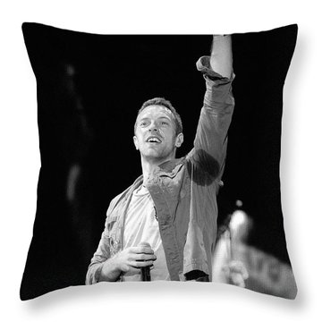 Coldplay 16 Throw Pillow