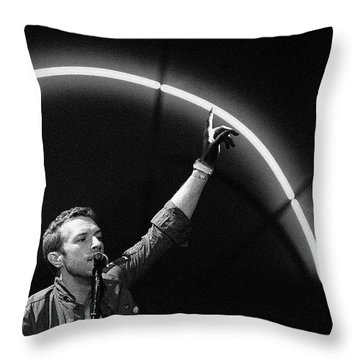 Coldplay10 Throw Pillow by Rafa Rivas