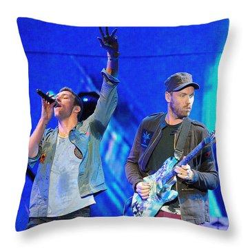 Coldplay6 Throw Pillow by Rafa Rivas