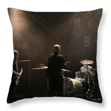 Cold's Back To The World Throw Pillow by Stephanie Haertling