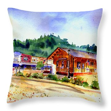 Colfax Rr Junction Throw Pillow