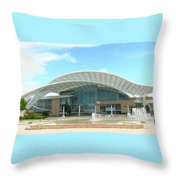 Coliseum In San Juan, Puerto Rico Throw Pillow