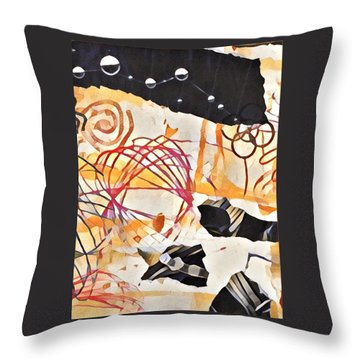 Collage Details Throw Pillow
