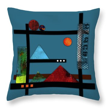 Collage Landscape 2 Throw Pillow