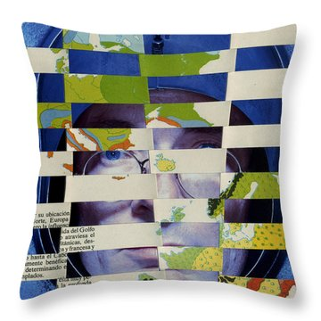 Collage Verso Throw Pillow