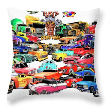 Collage2013 Throw Pillow by Lyle Brown