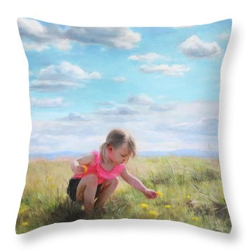 Dandelion Throw Pillows