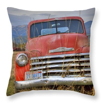 Collecting Weeds Throw Pillow by Idaho Scenic Images Linda Lantzy