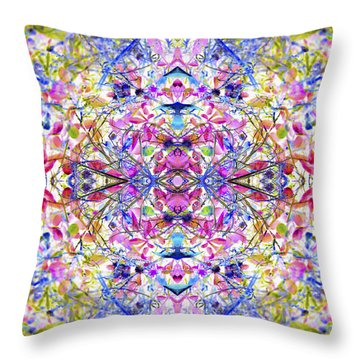 Collective Dream Ascends Throw Pillow