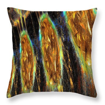 Collective Thought Throw Pillow by Michael Durst
