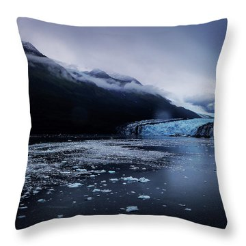 College Fjord Throw Pillow