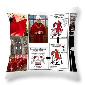 College Of Cardinals Throw Pillow