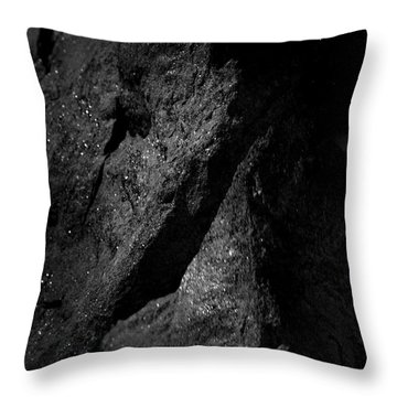 Throw Pillow featuring the photograph Collide by Eric Christopher Jackson