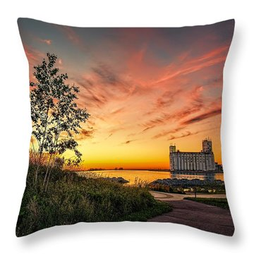 Collimgwood Terminal Throw Pillow