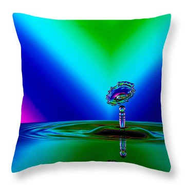 Collision 2016-02 Throw Pillow