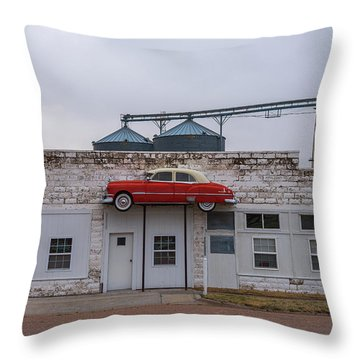 Throw Pillow featuring the photograph Collyer Bar by Darren White