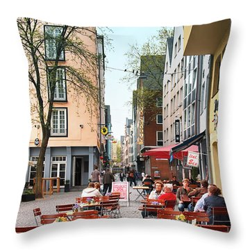Cologne Koln, Germany Throw Pillow