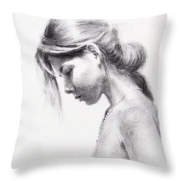 Colombiana Throw Pillow