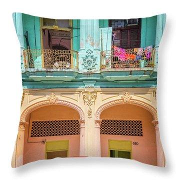 Cuba Throw Pillows