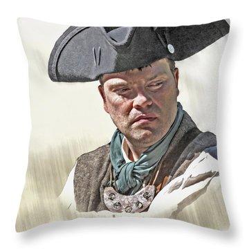 George Steele Throw Pillows