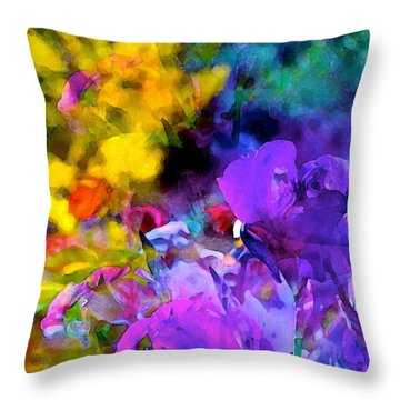 Color 102 Throw Pillow