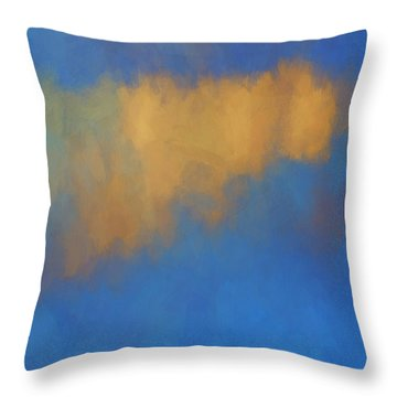 Color Abstraction Lvi Throw Pillow by David Gordon