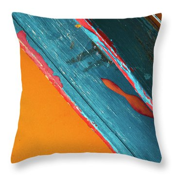 Color Abstraction Lxii Sq Throw Pillow