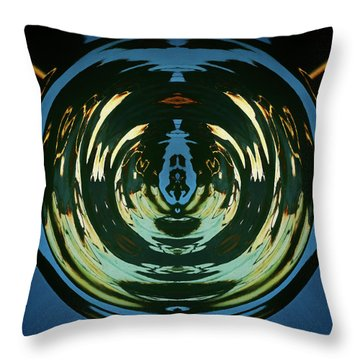 Color Abstraction Lxx Throw Pillow