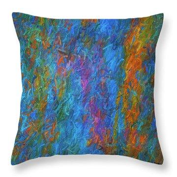 Color Abstraction Xiv Throw Pillow
