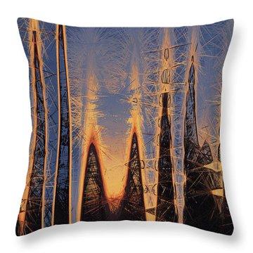 Color Abstraction Xl Throw Pillow