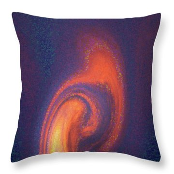 Color Abstraction Xlii Throw Pillow
