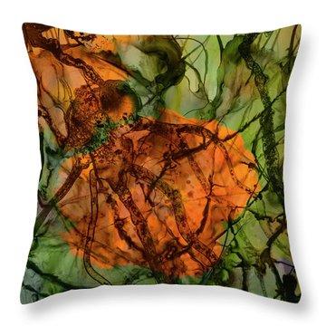 Color Abstraction Xx Throw Pillow