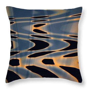 Color Abstraction Xxiv  Throw Pillow by David Gordon