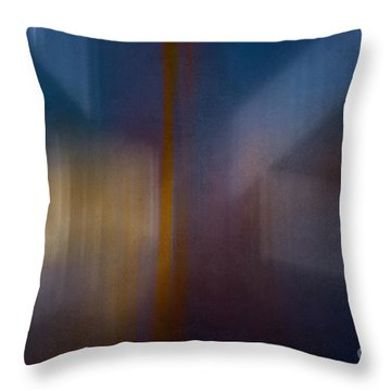 Color Abstraction Xxix Throw Pillow by David Gordon