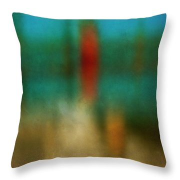 Color Abstraction Xxvi Throw Pillow