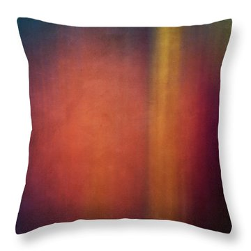 Color Abstraction Xxvii Throw Pillow