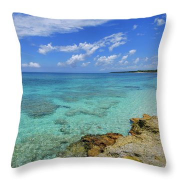 Color And Texture Throw Pillow