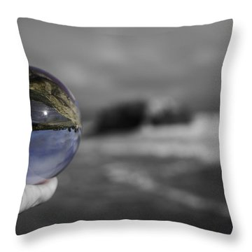 Color Ball Throw Pillow
