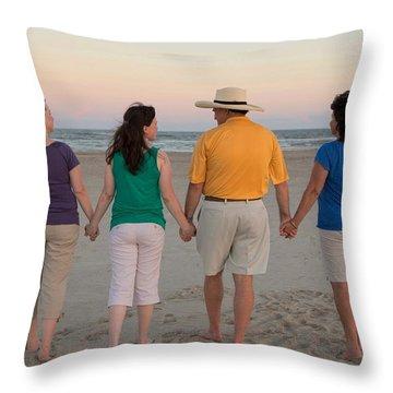 Color Enhanced Throw Pillow