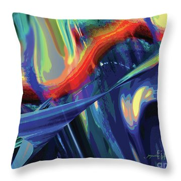 Color Flight Throw Pillow