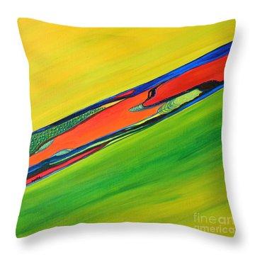 Color I Throw Pillow