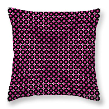 Color Illusion No1. Throw Pillow