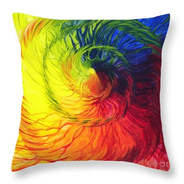 Color Throw Pillow
